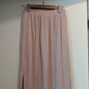Pink Wilfred knee length skirt